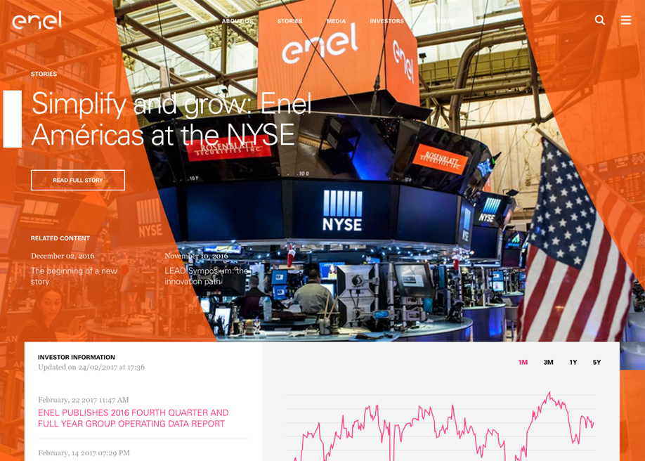 Enel Corporate Website