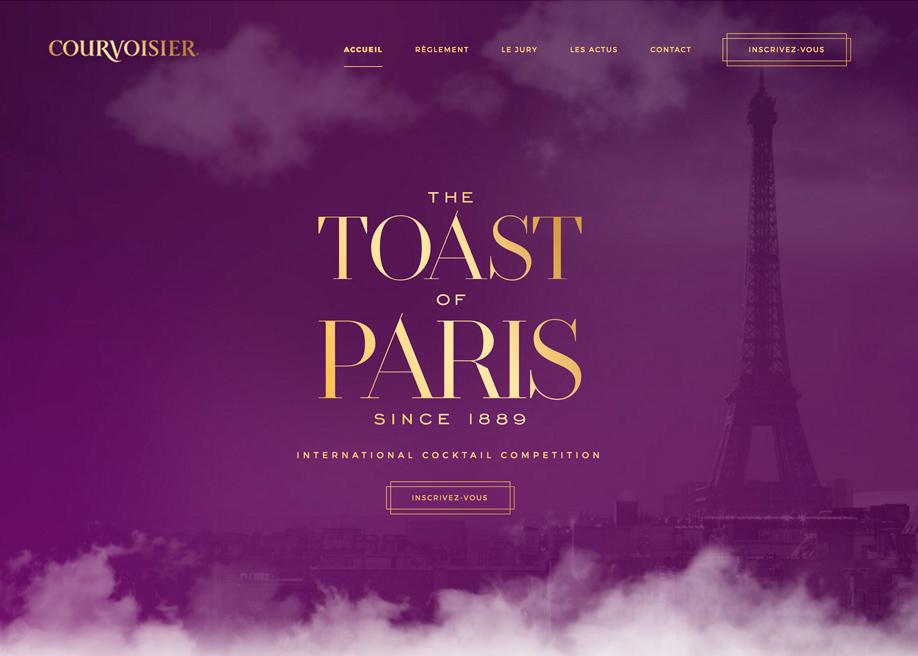 Toast Of Paris - Courvoisier