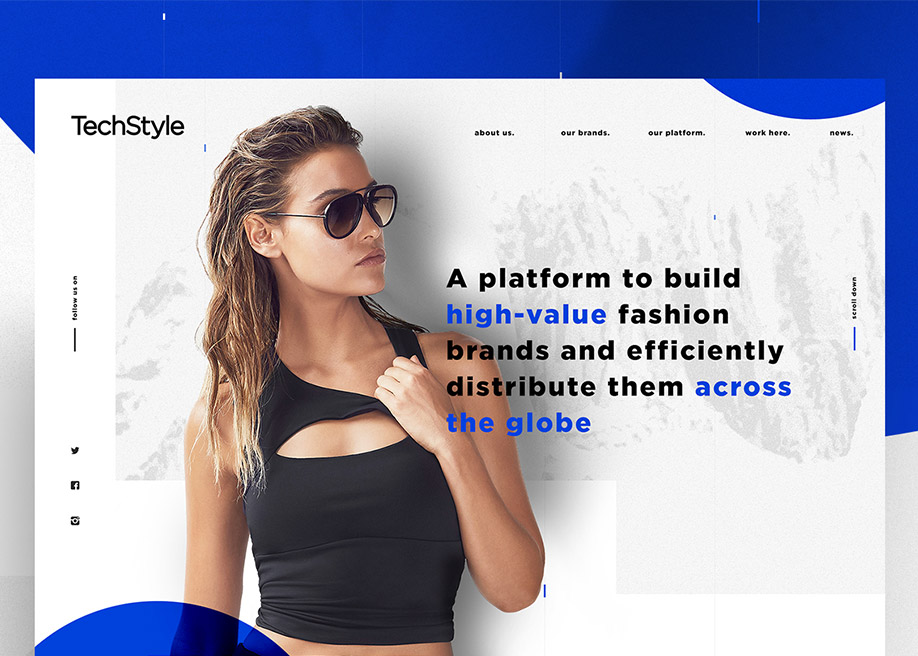 TechStyle Corporate Website
