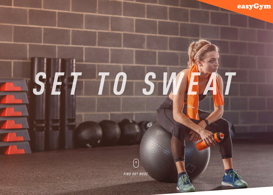 Set to Sweat with easyGym