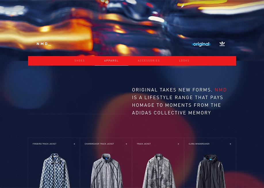 adidas Originals NMD - Awwwards SOTD