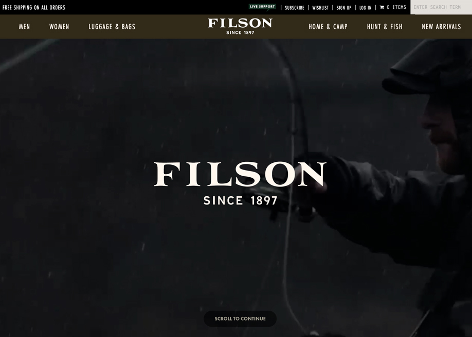 Filson April 2017 Lookbook
