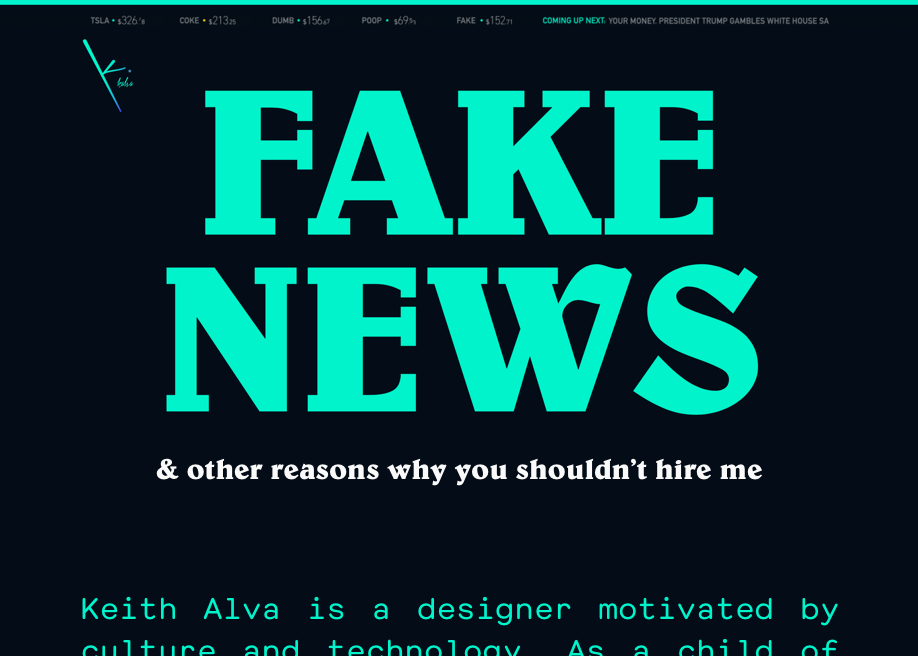 Keith Alva - Fake Designer