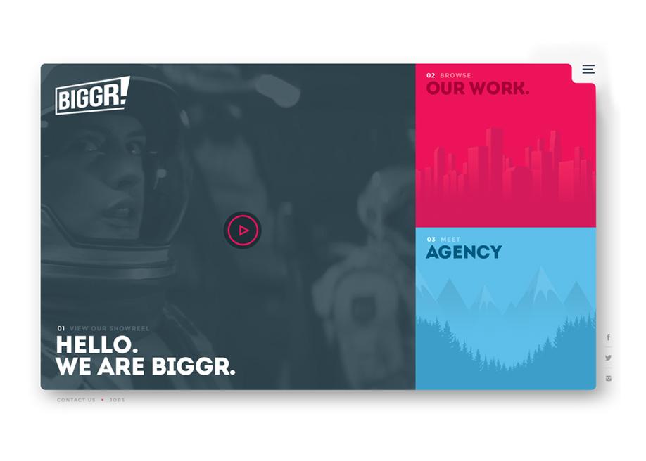 Biggr - creative agency