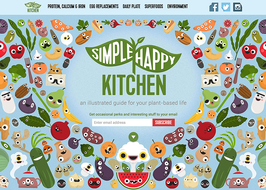 Simple Happy Kitchen - Awwwards Nominee