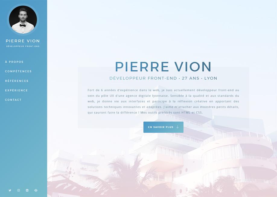 Pierre Vion - Portfolio