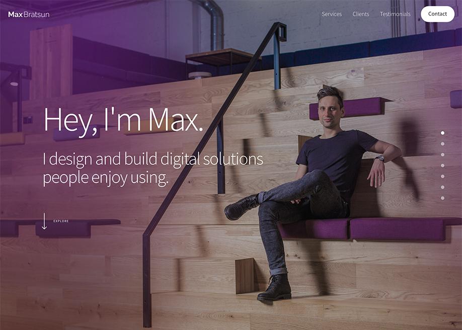 Max Bratsun, the developer