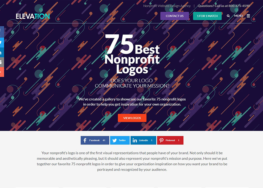 Best Nonprofit Logos - Awwwards Nominee