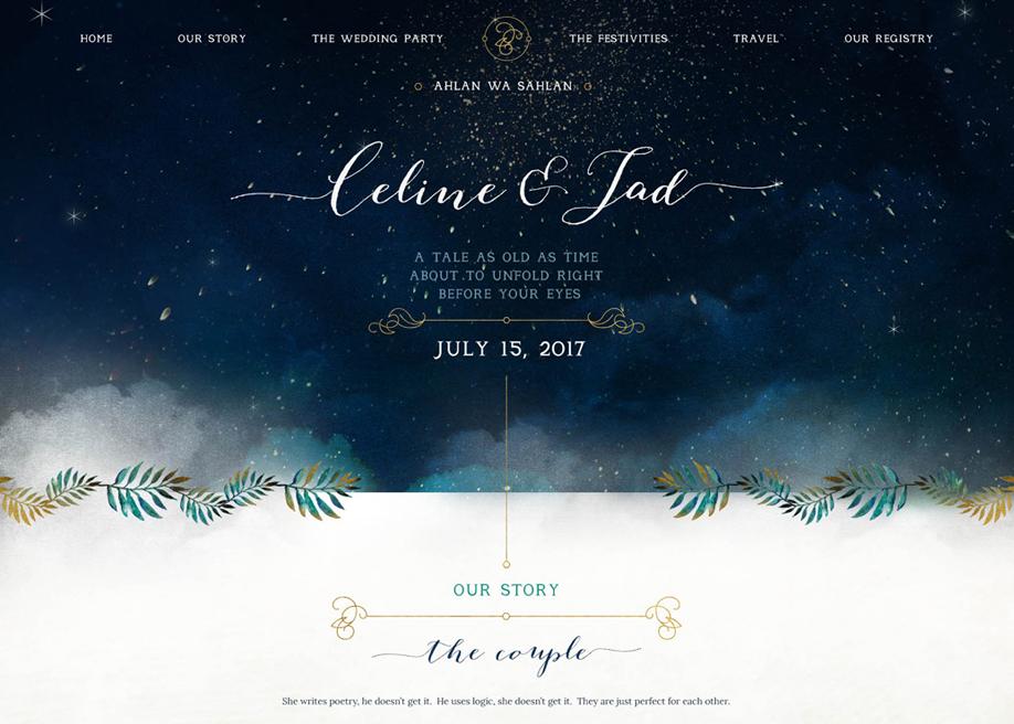 Celine & Jad - Poetic Love