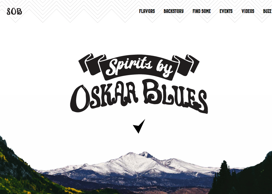 Spirits by Oskar Blues - Awwwards Nominee