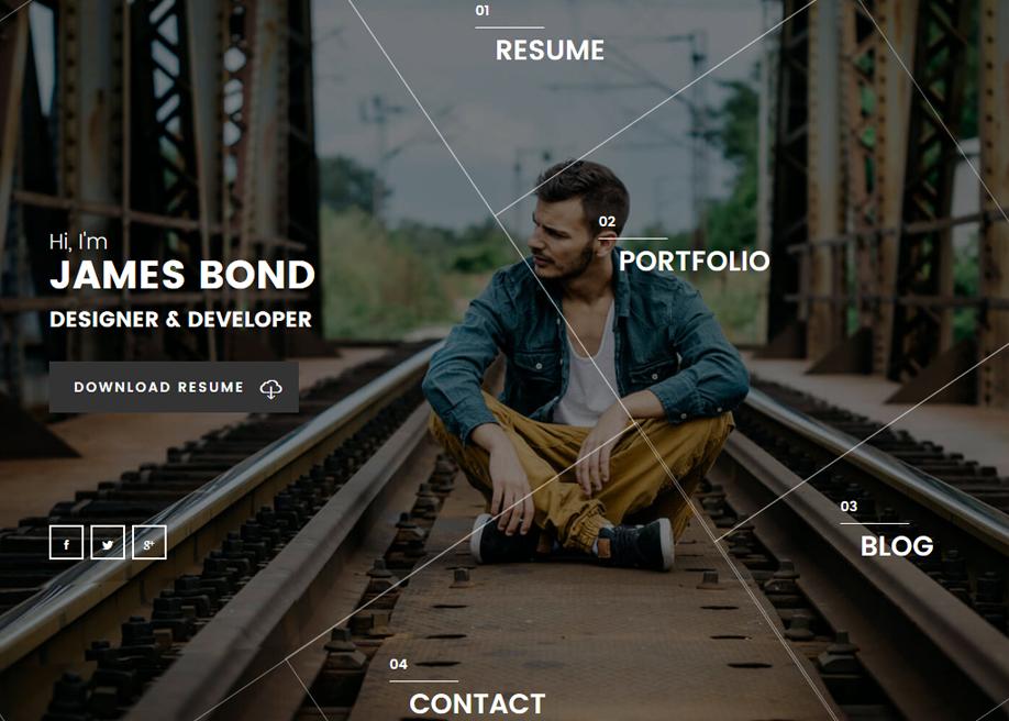 Alpha | CV, Resume, Portfolio