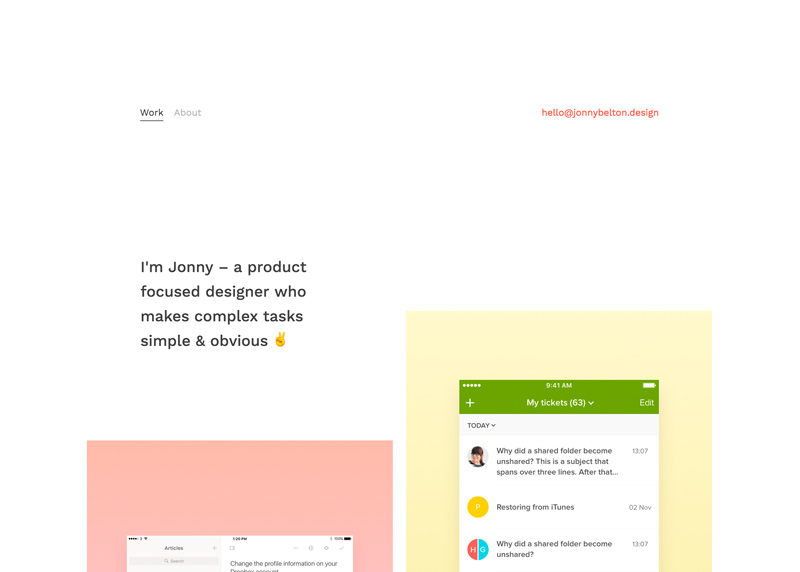 Jonny Belton – Product Design