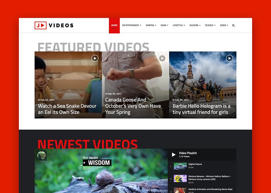 Jannah - WordPress News theme