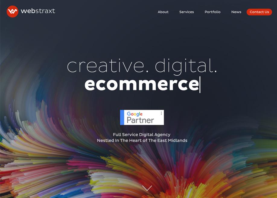 Webstraxt Agency Website