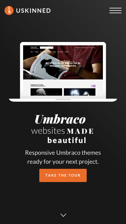 uSkinned - Themes for Umbraco