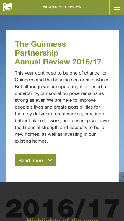 Guinness Partnership Review