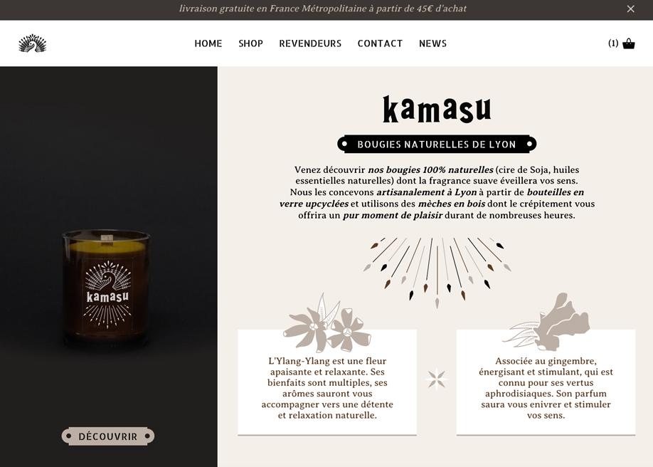 Kamasu Candles