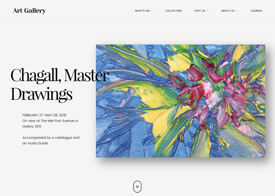 Arte | Art Gallery WP Theme