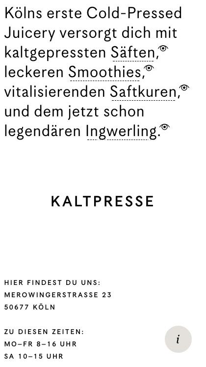 Kaltpresse