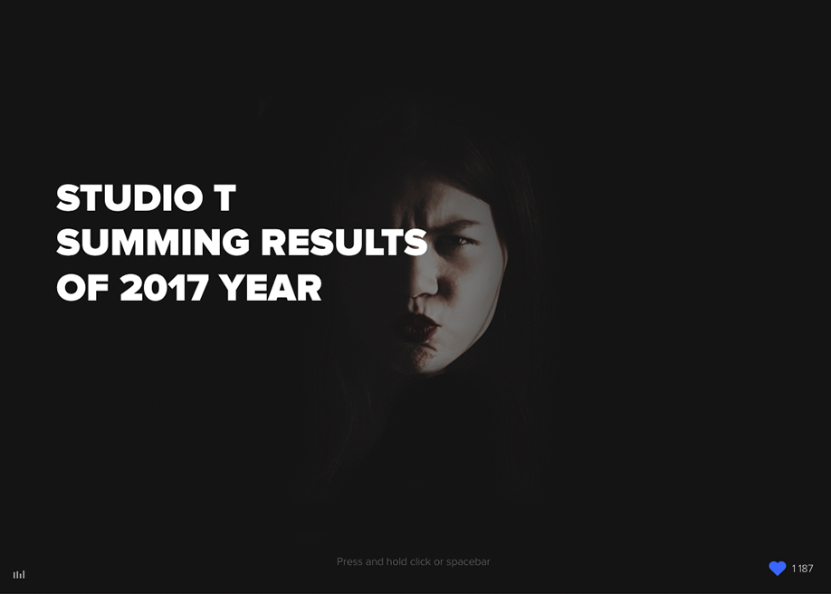 Studio T — overview of 2017