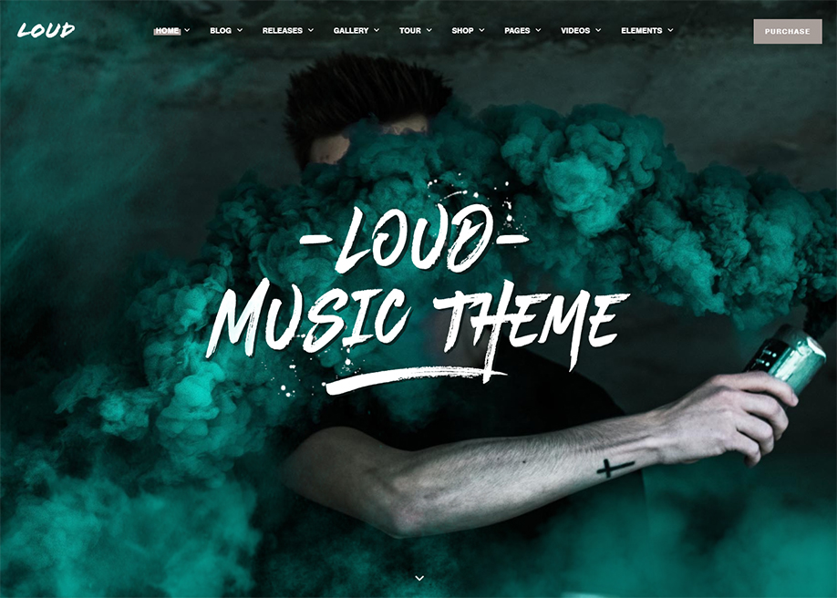 Loud - Music WordPress Theme
