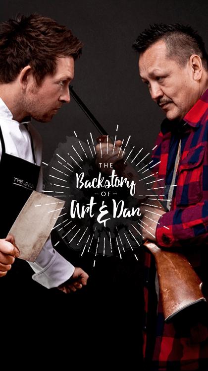 The Backstory of Art & Dan