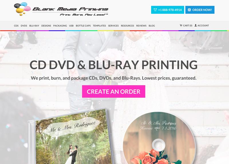 blank media printing - aards nominee