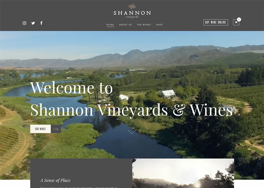Shannon Vineyards and Wines