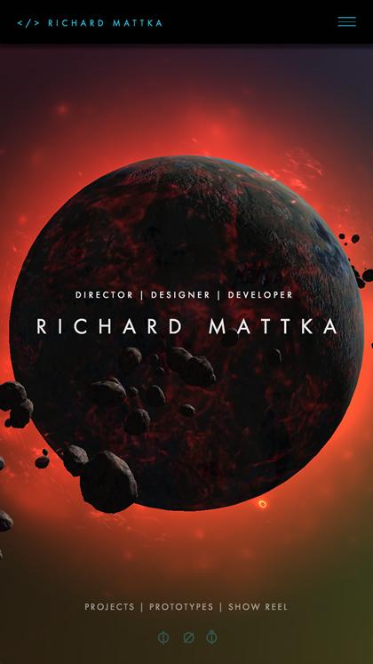 Richard Mattka - Portfolio