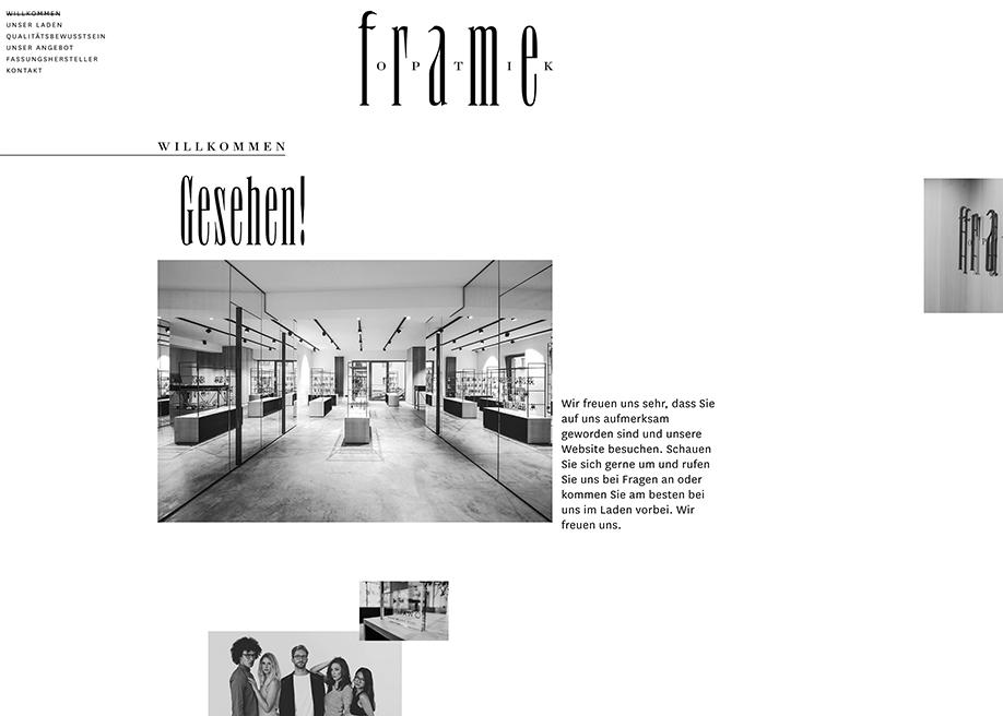 frame OPTIK