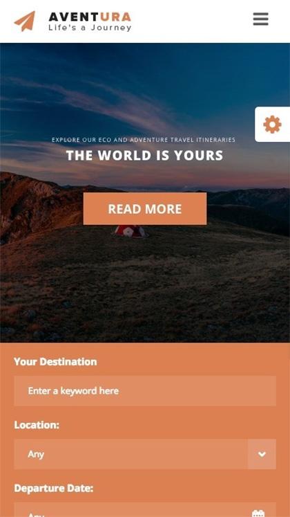 Aventura - Travel & Tour Theme