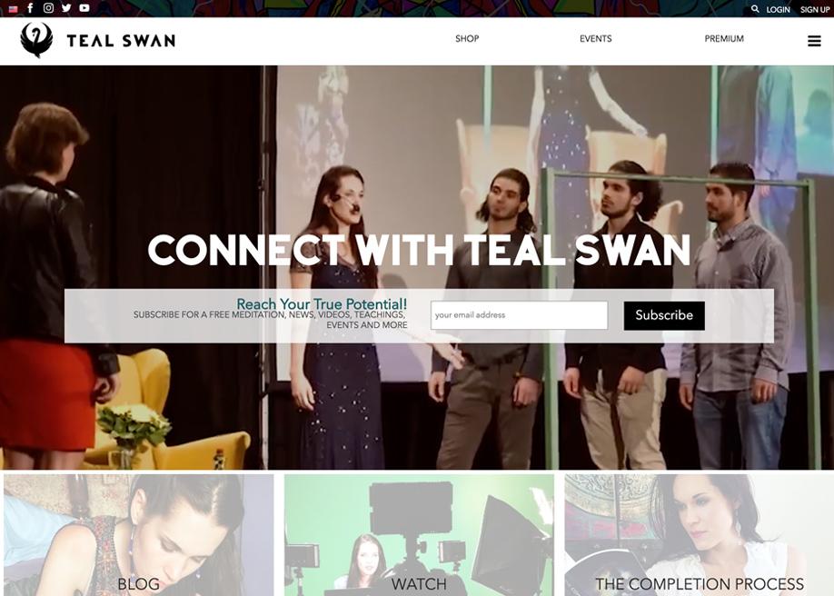 Teal Swan's Website
