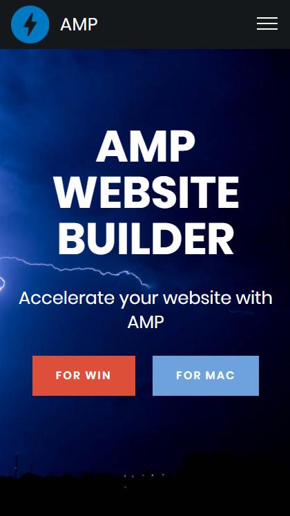 AMP Website Builder