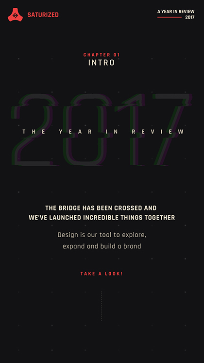 Saturized Year in Review 2017