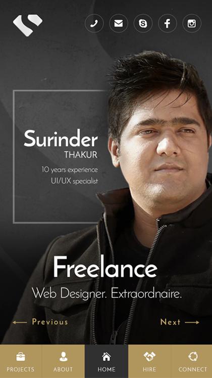 Surinder - Freelance Designer