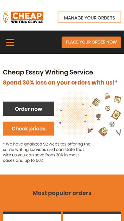 CheapWritingService