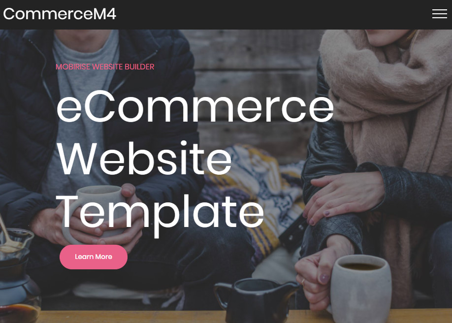 Ecommerce Website Template | Ecommerce Website Template Awwwards Nominee