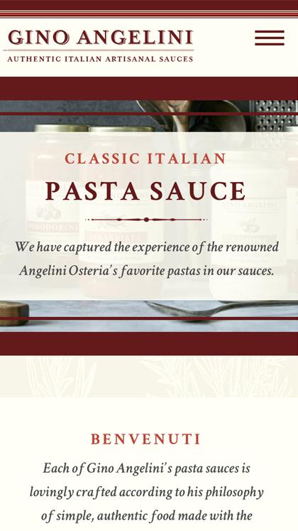 Gino Angelini Foods