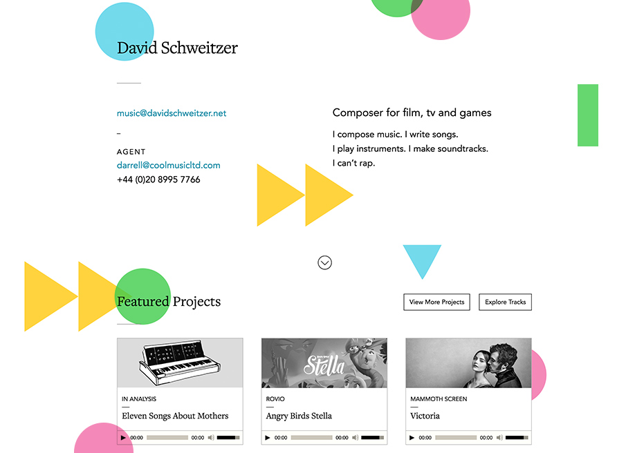David Schweitzer - Musician