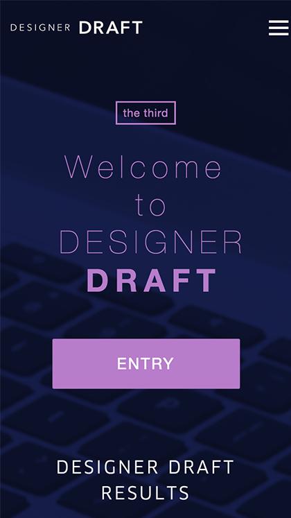 Designer DRAFT