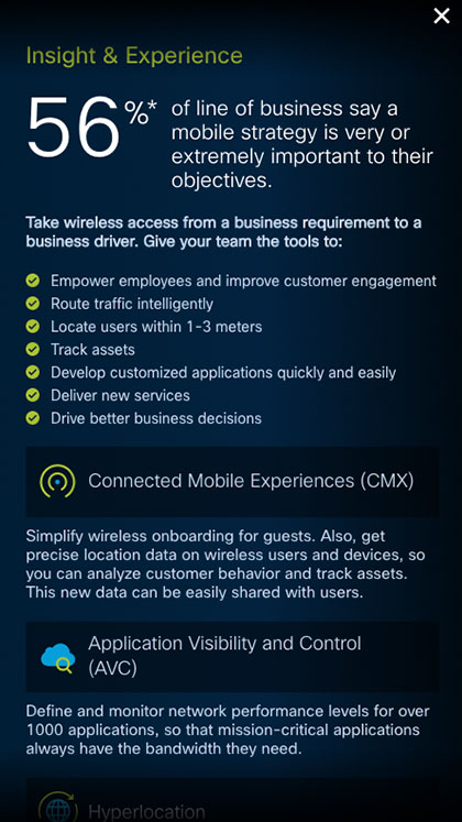 Cisco DNA Mobility Graphic - Mobile Report