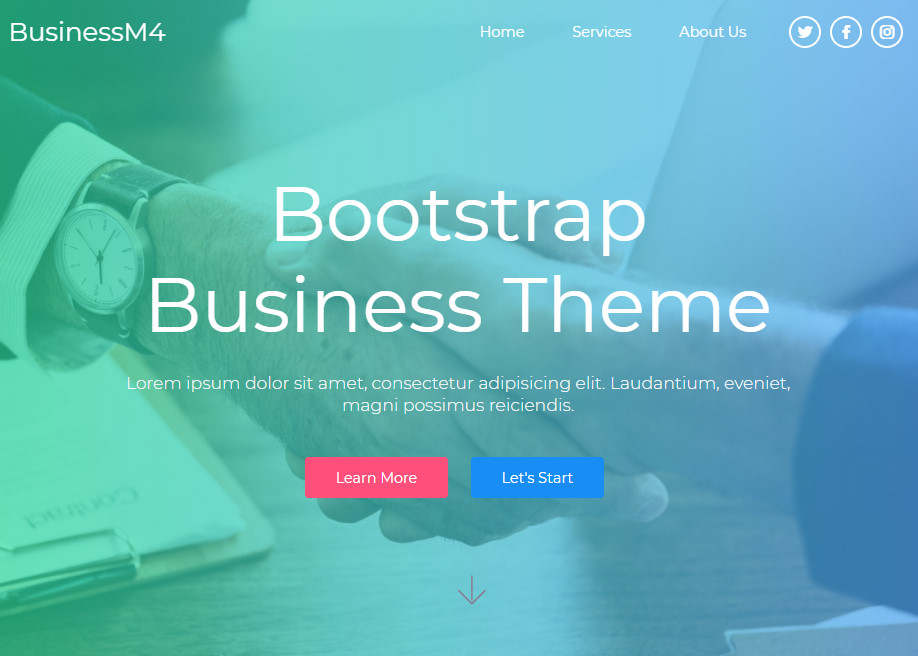 Bootstrap Business Theme