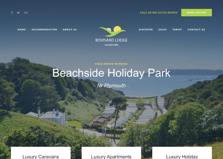 Bovisand Holiday Park