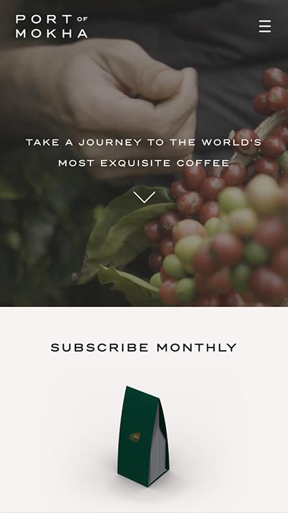 Port of Mokha Coffee