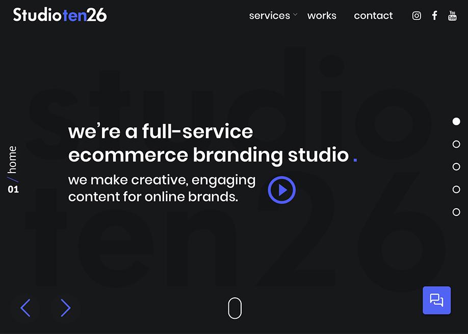 Studio Ten26 Branding Studio