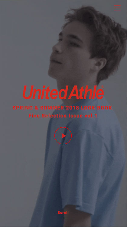 United Athle Look Book SS 2018