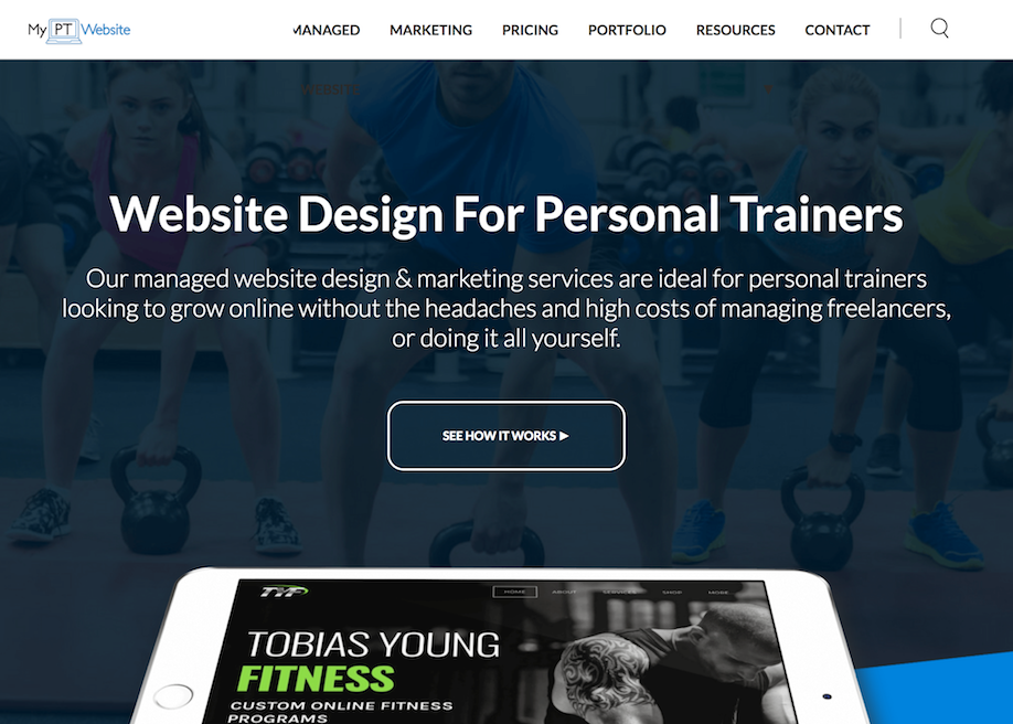 My Personal Trainer Website