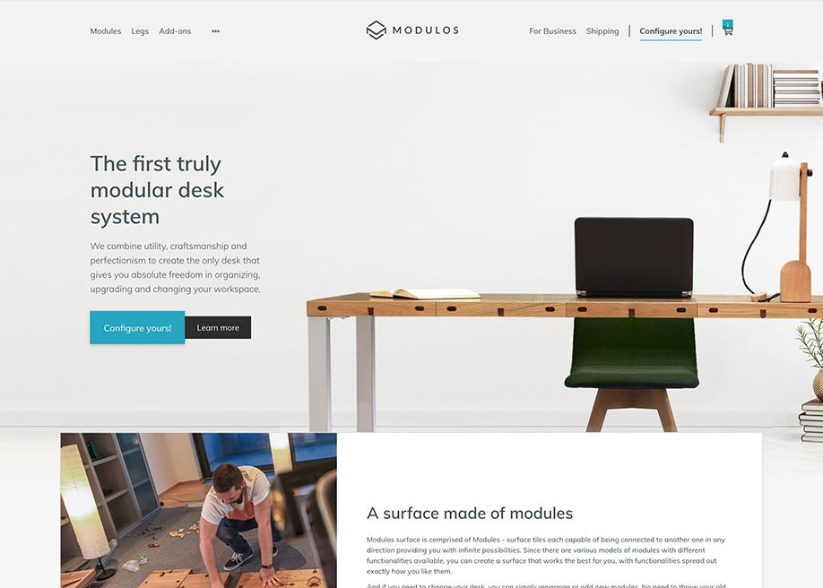Modulos |A fully modular desk