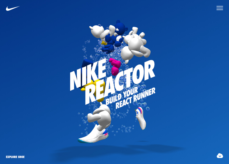 Nike Reactor - Awwwards SOTD
