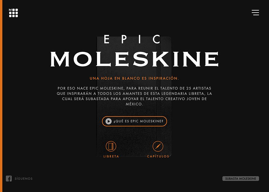 Epic Moleskine